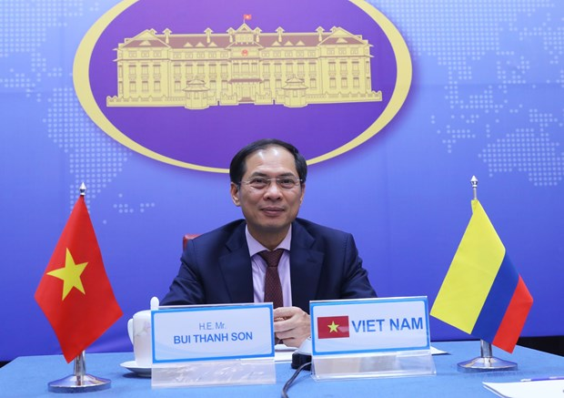 Vietnam, Colombia hold fifth deputy ministerial-level political consultation hinh anh 1