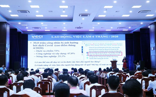 Ca Mau conference seeks way to optimise EVFTA, EVIPA hinh anh 1