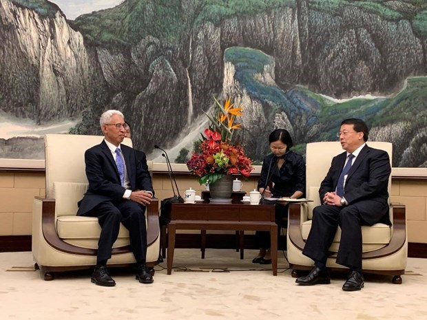 Ambassador advocates stronger links between Shanghai, Vietnamese localities hinh anh 1