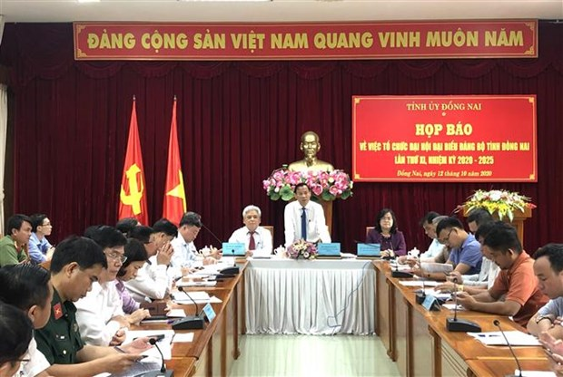 Dong Nai's 11th Party Congress to open on October 14 hinh anh 1