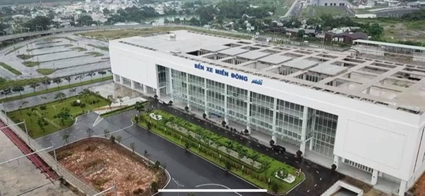 Vietnam's biggest bus station opens in HCM City hinh anh 1