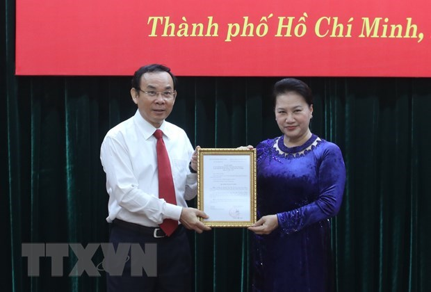 Nguyen Van Nen nominated candidate for Secretary of HCM City Party Committee hinh anh 1