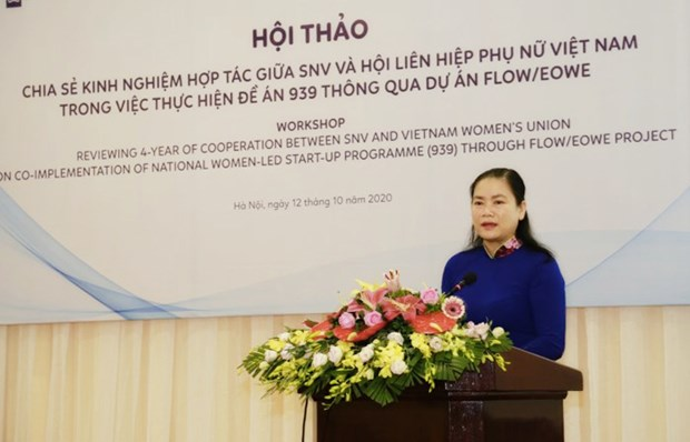Netherlands-funded project helps promote Women's economic empowerment hinh anh 1