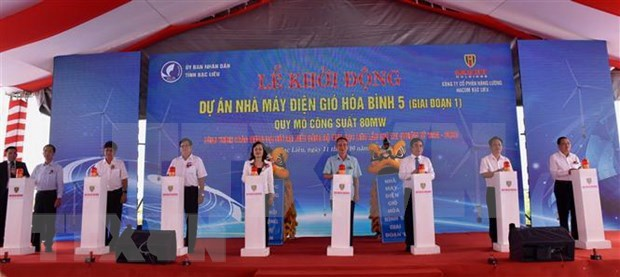 Work starts on Mekong Delta's biggest mainland wind project hinh anh 1