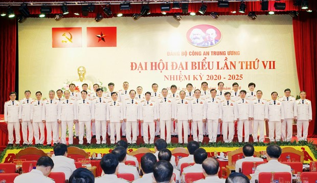 Central Public Security Party Organisation's 7th Congress wraps up hinh anh 1