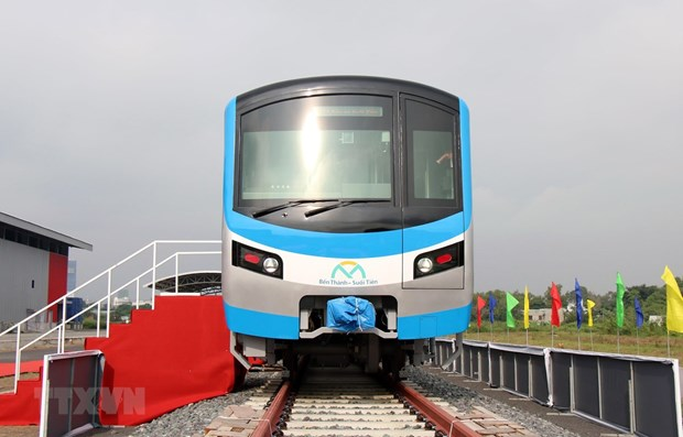 HCM City receives first train for Metro Line No 1 hinh anh 1