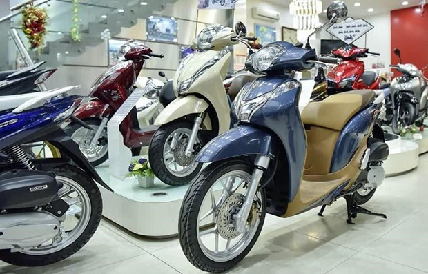 Motorcycle sales taper off 18.49 percent hinh anh 1