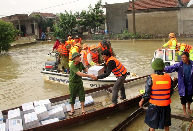 Sympathies sent to flood-hit localities in central, Central Highlands regions hinh anh 1