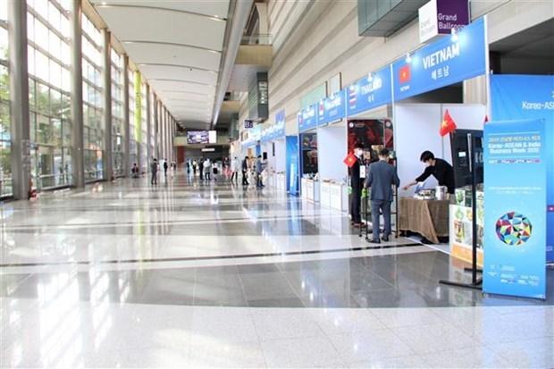 Vietnam attends Korea - ASEAN & India Business Week 2020 hinh anh 1