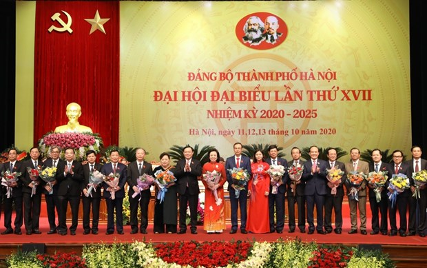 17th Congress of Hanoi Party Organisation concludes hinh anh 1