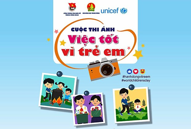 Photo contest on good deeds for children kicks off hinh anh 1