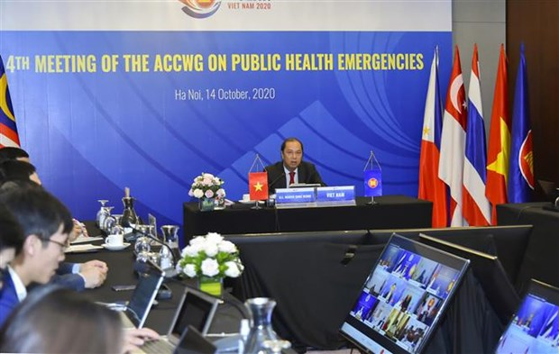 Fourth meeting of ACC Working Group on Public Health Emergencies hinh anh 1