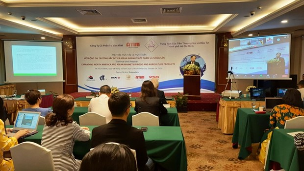 Seminar looks to expand farm produce market in North America, ASEAN hinh anh 1