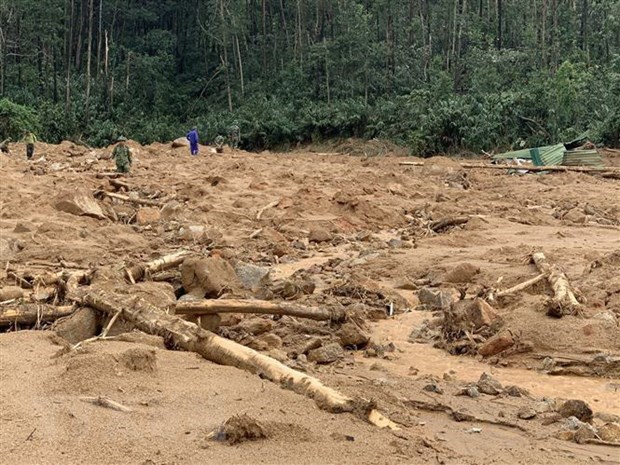 Bodies of seven landslide victims found hinh anh 1
