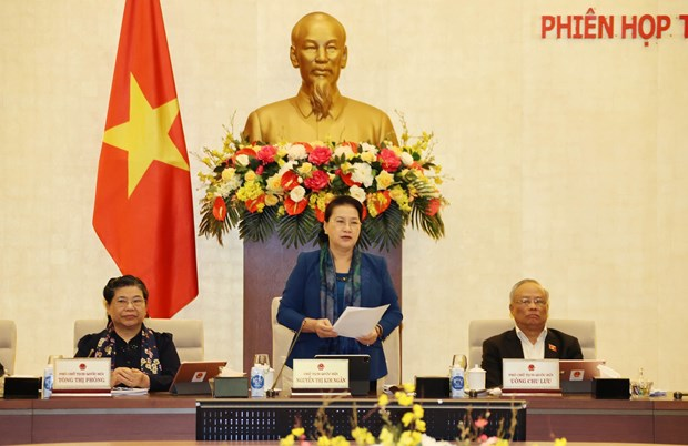 NA Standing Committee's 49th meeting wraps up hinh anh 1