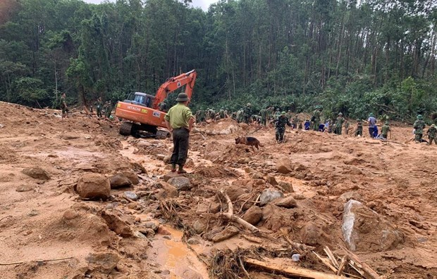 Three bodies found at landslide-hit site hinh anh 1