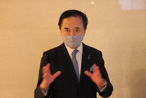 PM Suga's Vietnam visit to forge bilateral links: Japanese governor hinh anh 1