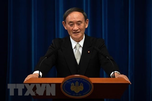 Japan officially announces Vietnam visit by PM Suga hinh anh 1