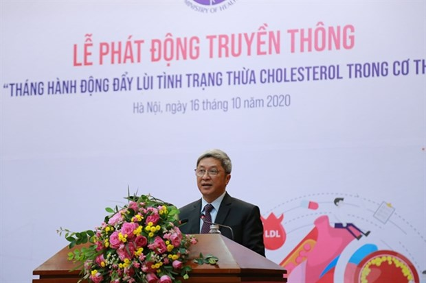 Ministry launches action month on excess cholesterol prevention hinh anh 1