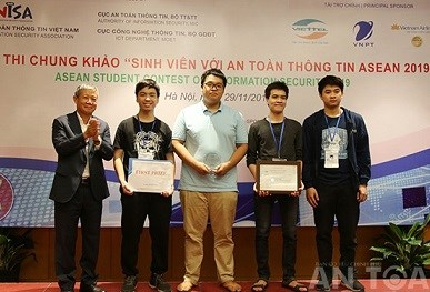 ASEAN Student Contest on Information Security to open on Oct 17 hinh anh 1