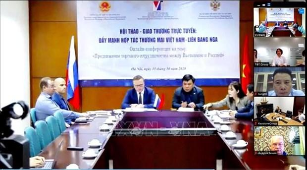 Webinar looks to bolster Vietnam-Russia trade amid COVID-19 hinh anh 1