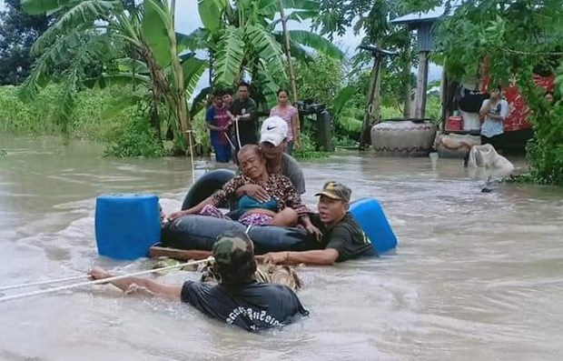 Cambodia: Flood death toll rises to 18 hinh anh 1