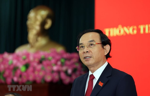 HCM City's Party leader pledges to strive to develop city hinh anh 1