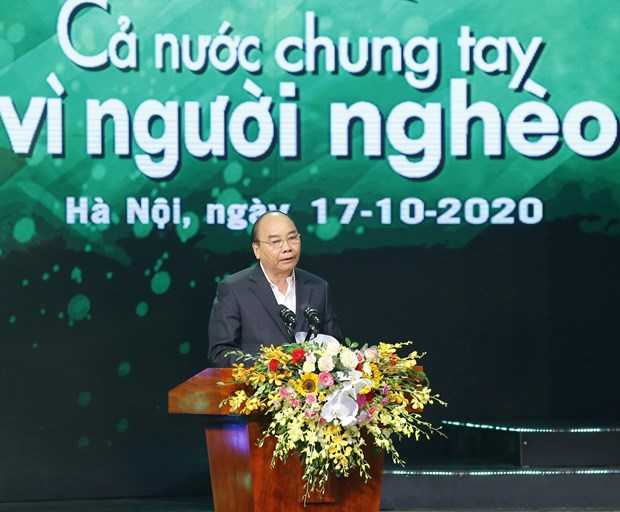 Poverty eradication key to sustainable development: PM hinh anh 1