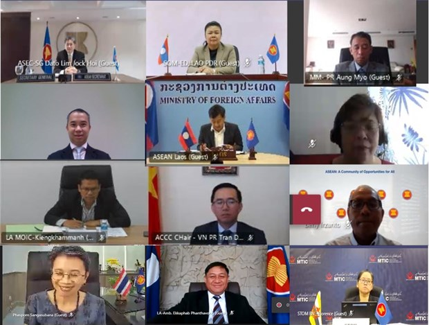 ASEAN holds workshop to enhance regional supply chain efficiency hinh anh 1
