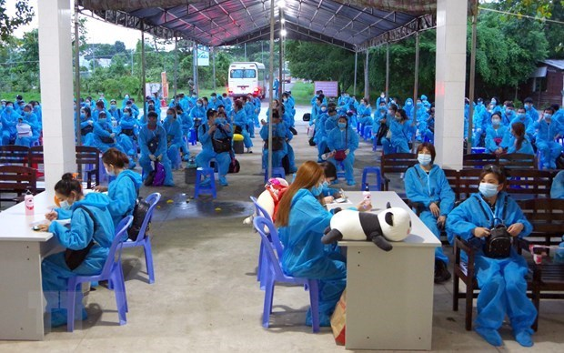 Vietnam enters 47th day with no COVID-19 community transmissions hinh anh 1