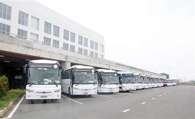 Major bus stations in HCM City improve services hinh anh 1