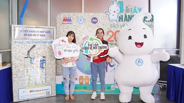 Tetra Pak, MM Mega Market to collect used beverage cartons at supermarkets hinh anh 1