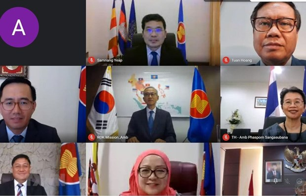 Vietnam attends ASEAN-RoK joint cooperation committee's meeting hinh anh 1