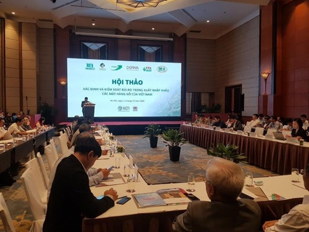 Control of legality of imported timber tightened hinh anh 1