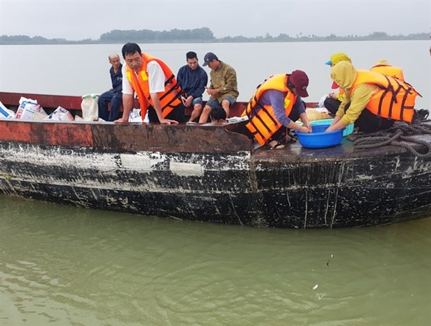 Tay Ninh releases fish fry into reservoir to regenerate fishery resources hinh anh 1