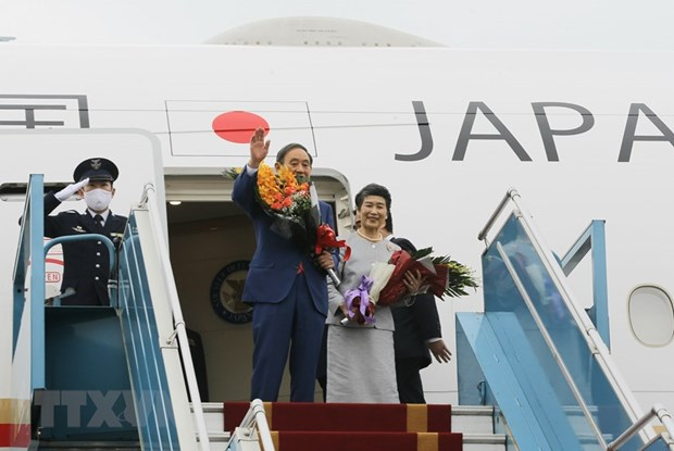 Japanese Prime Minister concludes Vietnam visit hinh anh 1