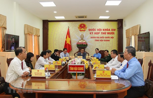 Legislature meet online on 10th sitting's first working day hinh anh 1