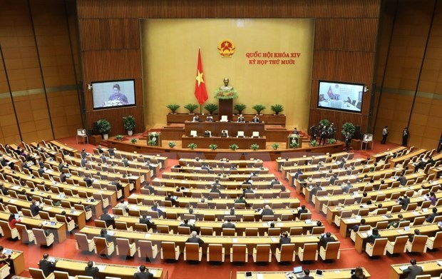 National Assembly starts 10th sitting hinh anh 1