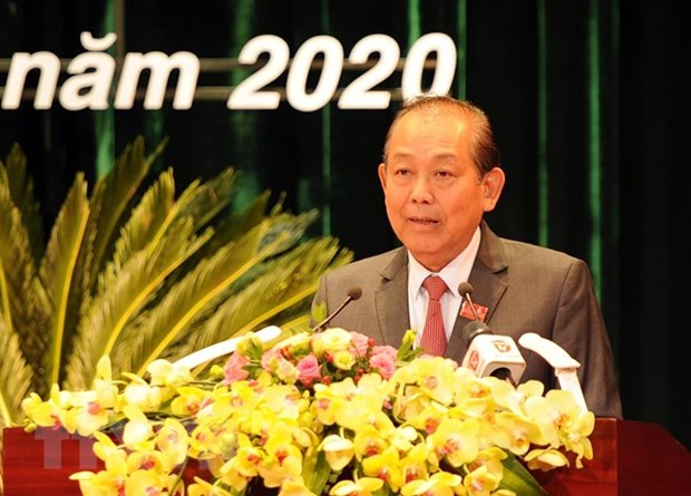 Deputy PM attends 22nd Congress of Da Nang Party Organisation hinh anh 1