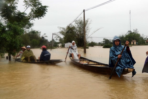 Myanmar State Counsellor offers sympathy over flood-caused losses hinh anh 1