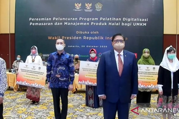 Indonesia holds online halal products' management training for MSMEs hinh anh 1