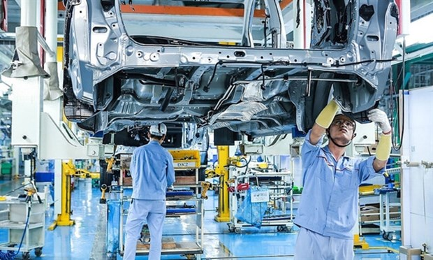 Ministry suggests additional support policies for industrial sector hinh anh 1
