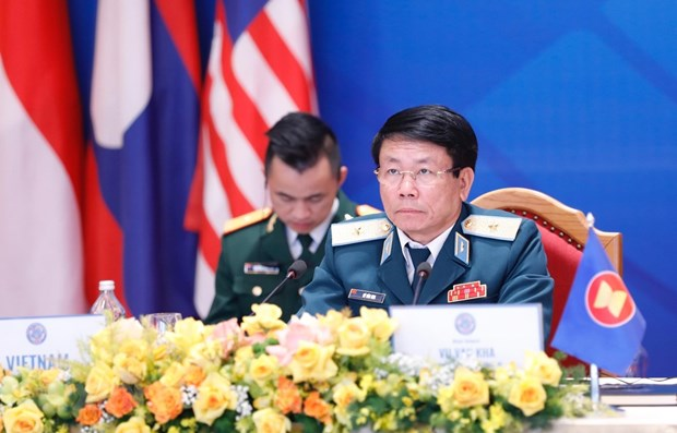 Acting Vietnamese air commander chairs 17th ASEAN Air Chiefs Conference hinh anh 1