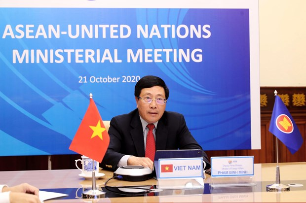 ASEAN, UN officials gather at ministerial meeting hinh anh 1