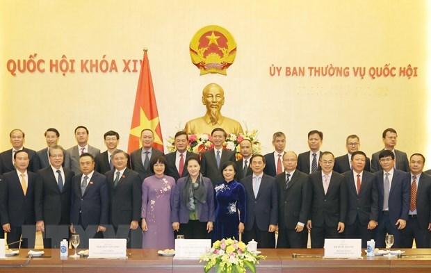 Top legislator hosts Ambassadors, heads of representative offices abroad hinh anh 1