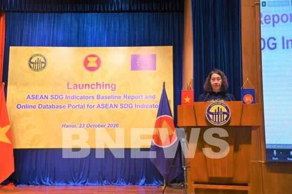 ASEAN SDG indicators baseline report launched hinh anh 1