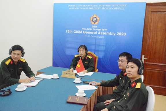 Vietnam attends 75th general assembly of Int'l Military Sports Council hinh anh 1