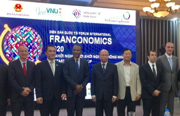 Franconomics 2020 kicks off in Hanoi hinh anh 1