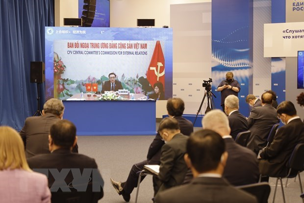 Vietnam attends International Inter-Party Forum SCO+ hinh anh 1
