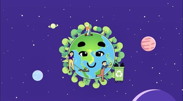 """Children, adolescents invited to join """"Green Video Challenge"""" by UNICEF hinh anh 1"""